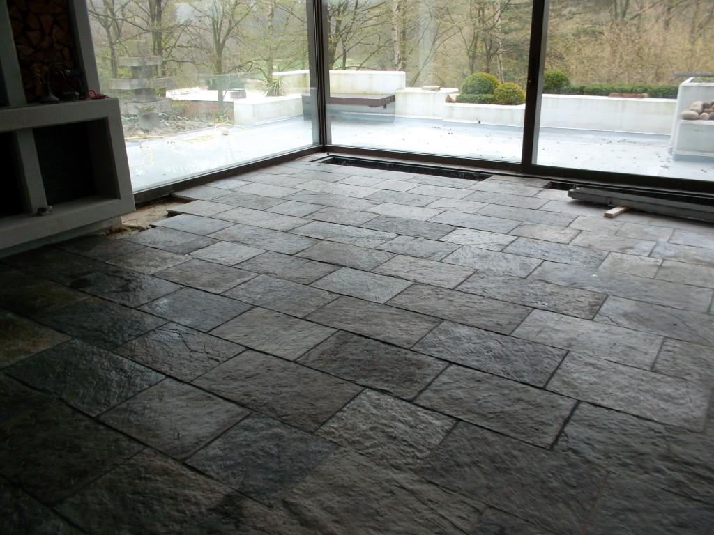Innenbereich - Fußbodenbelag